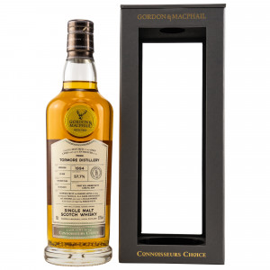 Tormore 1994/2021 - 26 Jahre First-Fill Sherry Butt Cask No. 8354 Private Collection (Gordon & MacPhail)
