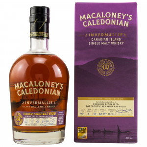 Macaloney's Caledonian Invermallie Refill Red Wine Barrique No.56 Canadian Single Malt Whisky