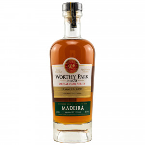Worthy Park 2010/2020 - 10 Jahre Madeira Cask Finish Special Cask Series