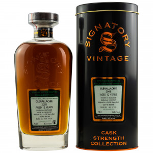 GlenAllachie 2008/2021 - 12 Jahre Single 1st Fill Sherry Butt No. 900368 Cask Strength Collection (Signatory)