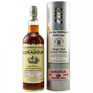 Edradour 2011/2021 - 10 Jahre Single Cask No. 188 The Un-Chillfiltered Collection (Signatory)