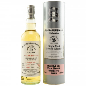 Ben Nevis 2013/2021 - 7 Jahre Hogsheads No. 421 + 423 The Un-Chillfiltered Collection (Signatory)