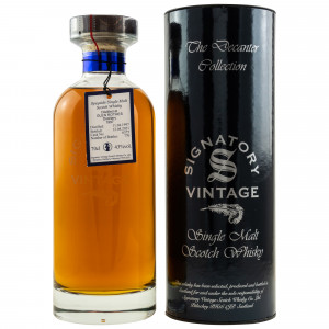 Glenrothes 1997/2021 - 24 Jahre Single Cask No. 6375 Ibisco Decanter The Decanter Collection (Signatory)