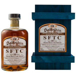 Ballechin 2010/2021 - 10 Jahre Single Oloroso Sherry Cask No. 194 Straight from the Cask