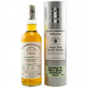 Glen Spey 2010/2021 - 10 Jahre Hogsheads 804786 + 804792 The Un-Chillfiltered Collection (Signatory)