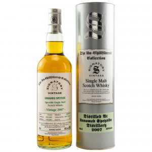 Unnamed Speyside 2007/2020 - 14 Jahre Refill Butts No. #DRU17/A190#9 The Un-Chillfiltered Collection (Signatory)