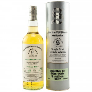 Glen Elgin 2007/2021 - 14 Jahre Hogsheads No. 800255 + 800260 The Un-Chillfiltered Collection (Signatory)