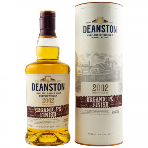 Deanston 2002 - 17 Jahre Organic PX Sherry Cask Finish