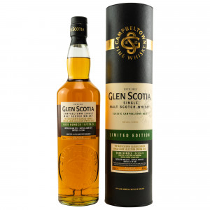 Glen Scotia 2010/2021 - 11 Jahre First Fill Ruby Port No. 19/324-5 Single Cask Selection Spring 2021