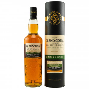 Glen Scotia 2013/2021 Unpeated First Fill Tawny Port Hogshead Cask No. 20/304-6 Single Cask Selection Spring 2021