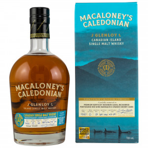 Macaloney's Caledonian 2021 Glenloy Whiskymakers Signature Expression Batch No. 2
