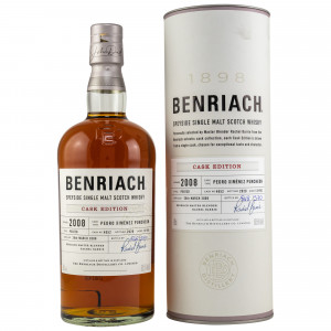 Benriach 2008/2020 - 12 Jahre Peated PX Puncheon Cask No. 4052 Cask Edition Series