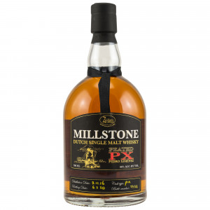 Millstone 2016/2020 - 3 Jahre Peated PX Cask