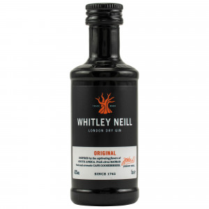Whitley Neill Handcrafted London Dry Gin (Miniatur)