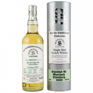 Mortlach 2009/2021 - 11 Jahre Hogsheads No. 317320+317321 The Un-Chillfiltered Collection (Signatory)