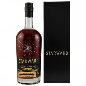 Starward 2016/2021 - 4 Jahre Red Wine Single Barrel No. 10323 bottled for whic.de