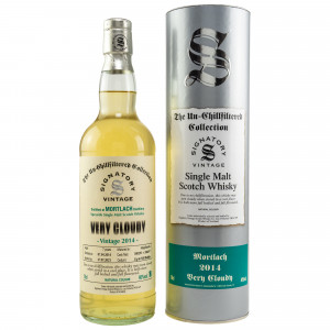 Mortlach Very Cloudy 2014/2021 - 7 Jahre Hogsheads No. 300295+300297 The Un-Chillfiltered Collection (Signatory)