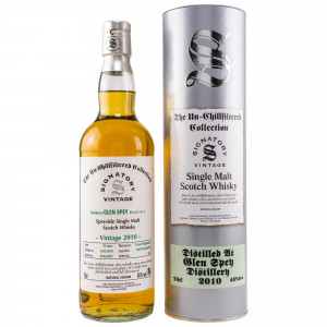Glen Spey 2010/2021 - 10 Jahre Hogsheads No. 804794 + 804799 The Un-Chillfiltered Collection (Signatory)