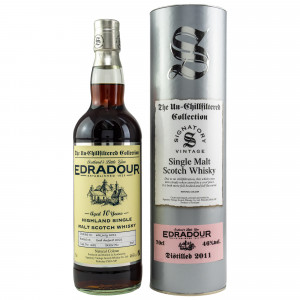 Edradour 2011/2021 - 10 Jahre Single Cask No. 252 The Un-Chillfiltered Collection (Signatory)