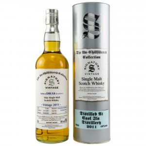 Caol Ila 2011/2021 - 9 Jahre Hogsheads No. 317238 + 317237 The Un-Chillfiltered Collection (Signatory)