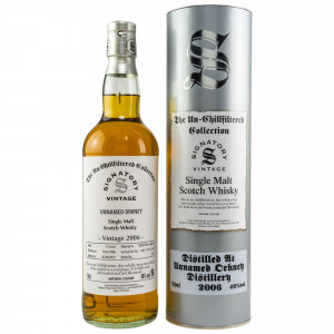 Unnamed Orkney 2006/2021 - 15 Jahre Refill Sherry Butts No. DRU 17/A65#18 The Un-Chillfiltered Collection (Signatory)