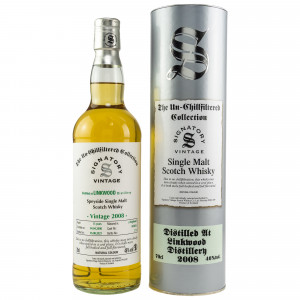 Linkwood 2008/2021 - 13 Jahre Single Hogshead No. 803836 The Un-Chillfiltered Collection (Signatory)