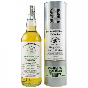 Glen Elgin 2007/2021 - 14 Jahre Hogsheads No. 800291 + 800294 The Un-Chillfiltered Collection (Signatory)