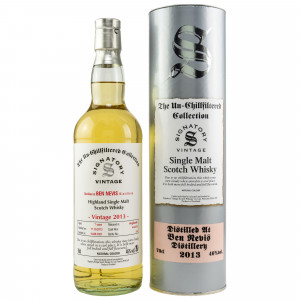 Ben Nevis 2013/2021 - 7 Jahre Hogsheads No. 414 + 415 The Un-Chillfiltered Collection (Signatory)