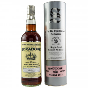 Edradour 2011/2021 - 10 Jahre Single Cask No. 250 The Un-Chillfiltered Collection (Signatory)