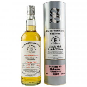 Ardmore 2010/2021 - 11 Jahre Bourbon Barrels No. 800999+801000 The Un-Chillfiltered Collection (Signatory)