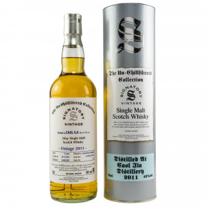 Caol Ila 2011/2021 - 9 Jahre Hogsheads No. 317218 + 317232 The Un-Chillfiltered Collection (Signatory)