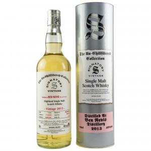 Ben Nevis 2013/2021 - 7 Jahre Hogsheads No. 420 + 425 The Un-Chillfiltered Collection (Signatory)