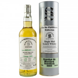 Mortlach 2009/2021 - 12 Jahre Hogsheads No. 301462+301463 The Un-Chillfiltered Collection (Signatory)