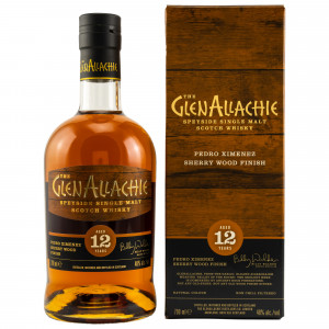 GlenAllachie 12 Jahre PX Wood Finish