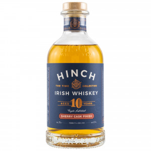 Hinch 10 Jahre Sherry Finish Irish Whiskey