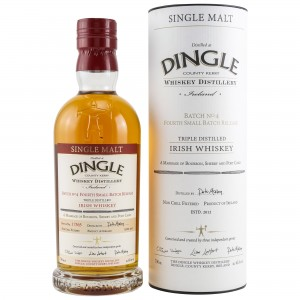 Dingle Single Malt Irish Whiskey Batch 4