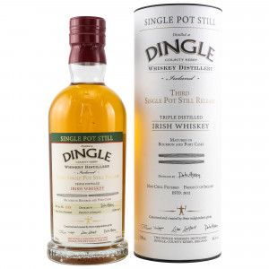 Dingle Single Pot Still Irish Whiskey - Batch 3