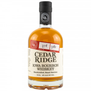 Cedar Ridge Iowa Bourbon