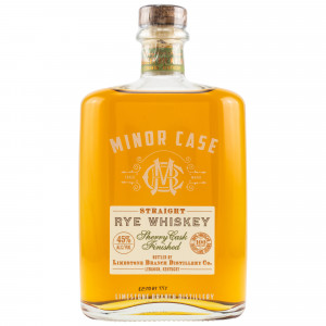 Minor Case Sherry Finish Rye Whiskey