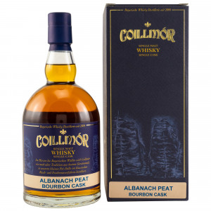 Coillmor 2010/2018 Albanach Peat Single Bourbon Cask Nr. 203