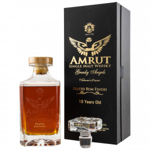 Amrut 2019 10 Jahre Greedy Angels  Peated Rum Finish