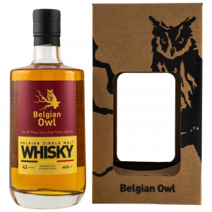 Belgian Owl Glen Els Firkin Sherry Cask Finish Cask No. 001