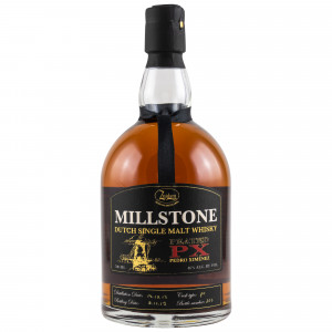 Millstone Peated PX 2014/2019 - Dutch Single Malt
