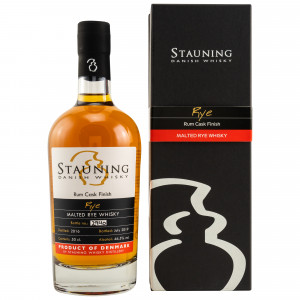 Stauning Rye July 2019 Rum Cask Finish