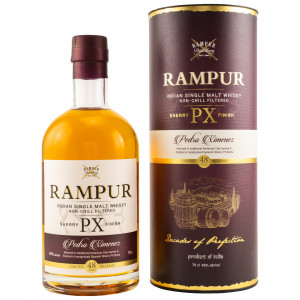 Rampur Single Malt PX Sherry Cask