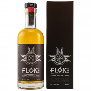 Floki Single Malt Whisky Sheep Dung Smoked Reserve - Barrel 7