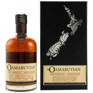 New Zealand The Oamaruvian 18 Jahre Single Cask No. 392 Cask Strength 55,88%