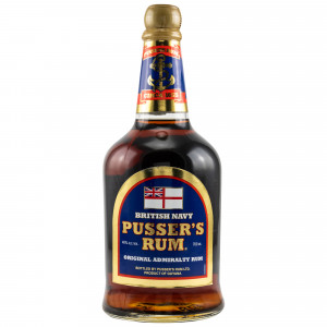 Pussers Rum British Navy Blue Label