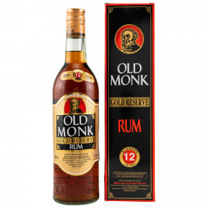 Old Monk 12 Jahre Gold Reserve Rum