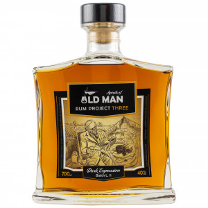 Spirits of Old Man Rum Project Three Dark Expression